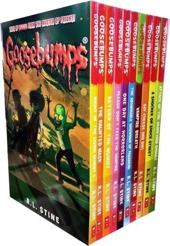 Goosebumps Classic (Series 1) - 10 Books Set
