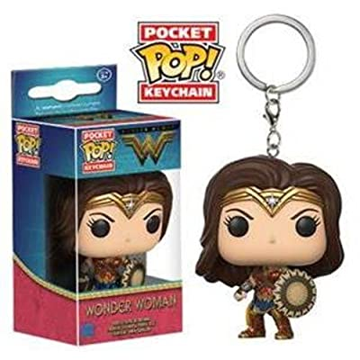 Funko Pop Keychain DC Wonder Woman Movie Wonder Woman Action Figure: Funko Pop! Keychain:: Toys & Games
