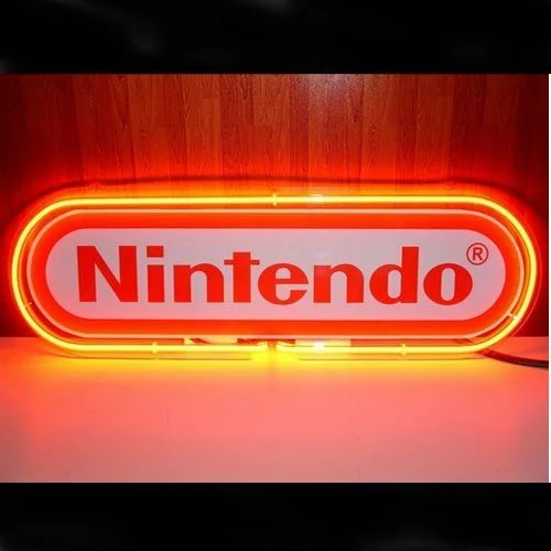 FUTURE(TM) Nintendo Neon Sign Aluminum Composite Panel (ACP) Home