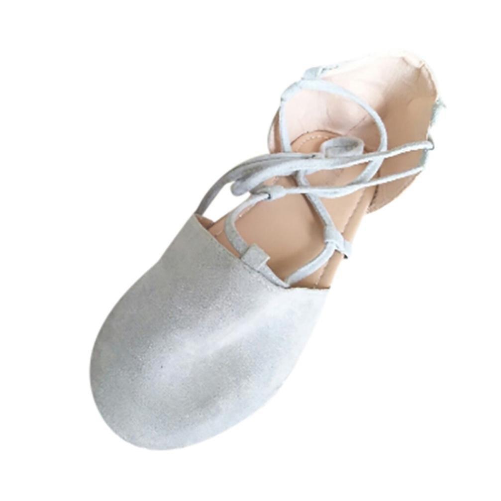 Chaussures Femmes, Yesmile B075VCD3T3 Femmes Dames Espadrilles Gris Lacets à Lacets Plates pour Femmes Sandales d été pour Femmes Gris 38d1d3c - reprogrammed.space