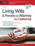img - for Living Wills and Powers of Attorney for California (Living Wills & Powers of Attorney for California) book / textbook / text book