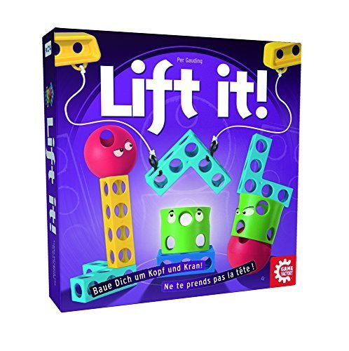 Game Factory Lift It Board Game by Game Factory