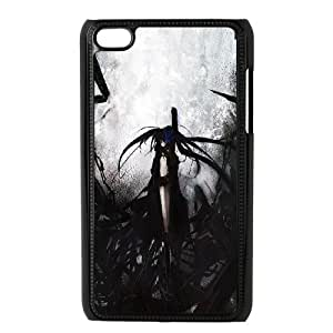 Ipod Touch 4 Phone Case Black Rock Shooter P78K789638