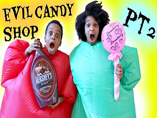 Gross Halloween Snack Foods (Crazy Candy Shop: Greedy Granny In Real Life Part)