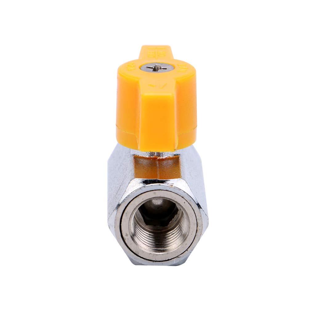 NPT Female SHMONO Mini Ball Valve 1//4 304 Stainless Steel Ball Valve