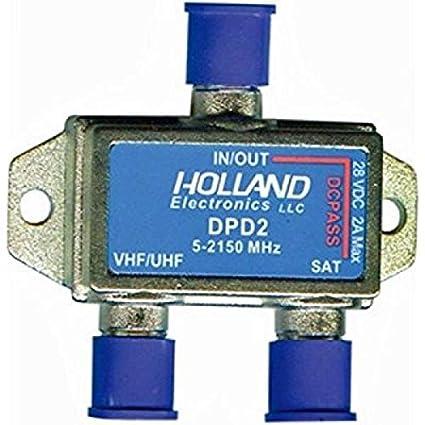 Amazon.com: Holland Dishpro Satellite Diplexer - Dish Approved 2 amp version: Electronics