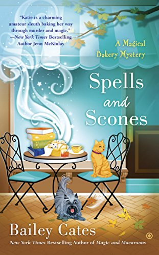 book cover of Spells and Scones