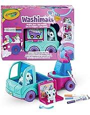 CRAYOLA 74-7372 Washimals - Spa Speelgoedauto Set