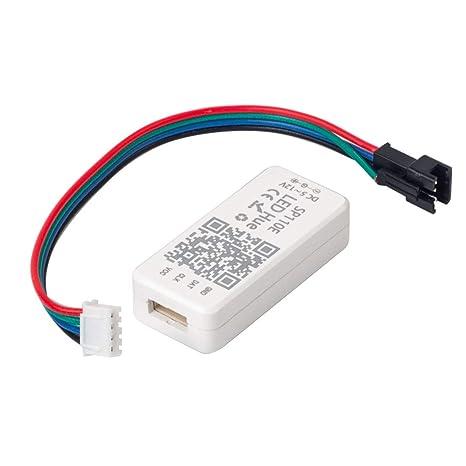 BTF-LIGHITNG WS2811 WS2812B SK6812RGB SK6812RGBW Bluetooth SP110E Mini  Controller iOS/Android App Control 1024 Pixels