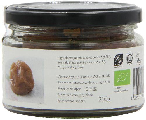 Respecting Your Great Grandparents >> Clearspring - Organic Japanese Umeboshi Plums - 200g