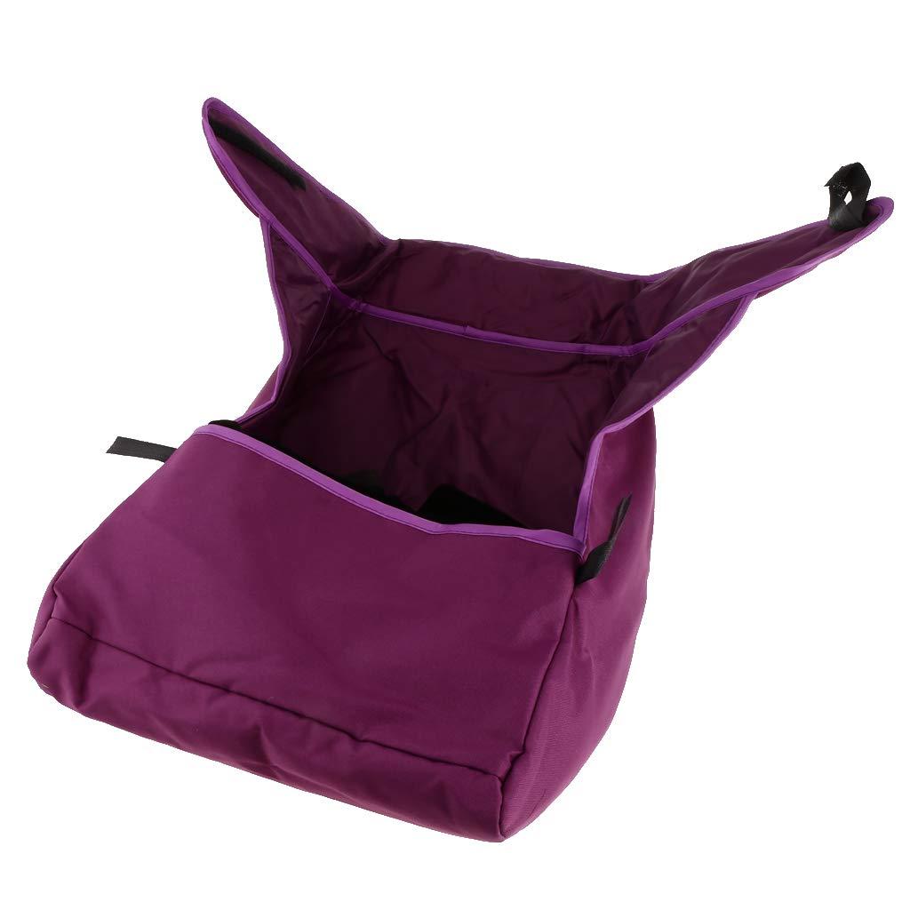 IPOTCH Bébé Landau Coldproof Couverture Chaude Footmuff Buggy Poussette Vent Tablier - Violet