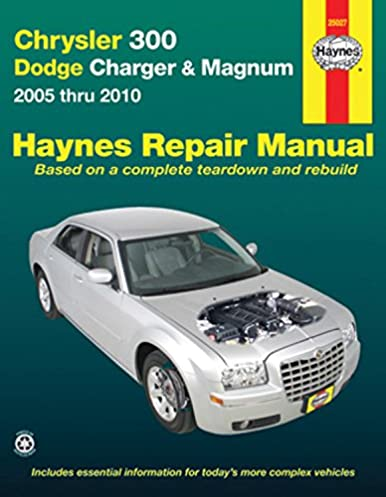 title chrysler 300 dodge charger magnum 2005 thru 2010 haynes rh amazon com 2006 Chrysler 300 SRT8 Specs 2006 Chrysler 300 SRT8 Specs
