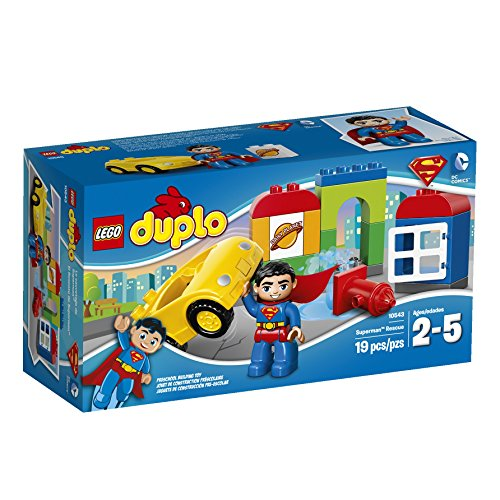 Superman Products : LEGO DUPLO Super Heroes Superman Rescue Building Set 10543