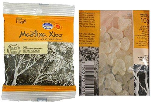 Greek Pure Gum MASTIC OF CHIOS ISLAND 10g - top quality Medium Tears