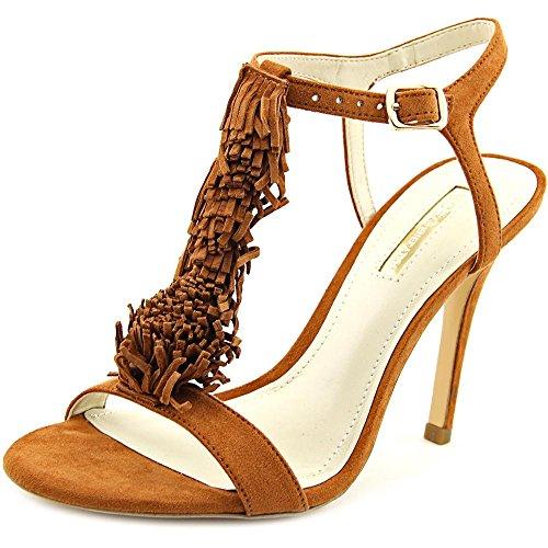 BCBGeneration Bg-pista vestido de la sandalia Caramel