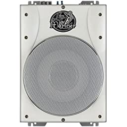 Lanzar Aqtb8 1000w Low Profile Marine Amplified 8 Subwoofer System
