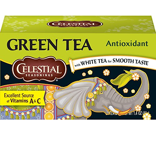 - Celestial Seasonings Antioxidant Green Tea, 20 ct [Pack of 6]