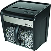 Staples Mailmate M7 12-Sheet Cross-Cut Paper / CD/DVD / Credit Card / Paper Clips / Staples Shredder (Black)