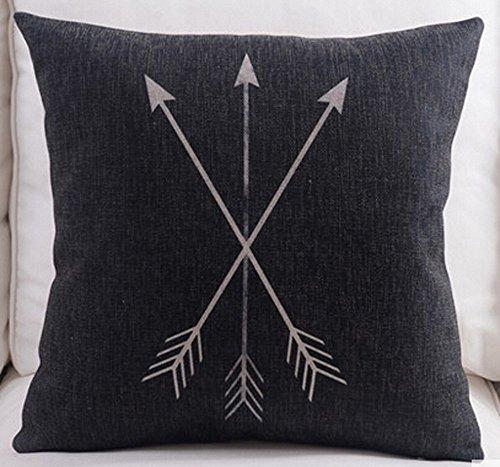 Feather squares Cotton Cushion Decorative