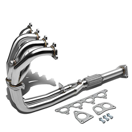 For 90-93 Honda Accord High-Performance 4-2-1 Design Stainless Steel Exhaust Header Kit CB