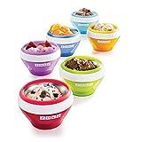 Zoku Ice Cream Maker, Compact Make and Serve Bowl