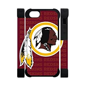 Hoomin Washington Redskins Prepare For Combat iPhone 5 Cell Phone Cases Cover Popular Gifts(Dual protective)