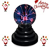 Plasma ball - Bdwing BD01 Magic Plasma Ball Lamp [Touch Sensitive] Nebula Sphere Globe Novelty Toy – USB or battery Powered- For Parties, Decorations, Prop, Kids, Bedroom, Home, And Gifts