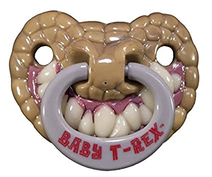 Billy Bob Teeth 90046 Baby T-Rex Pacifier by Billy Bob Teeth: Amazon ...