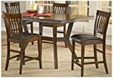 Hillsdale Furniture Arbor Hill 5 Pc Counter Height Dining Set Review