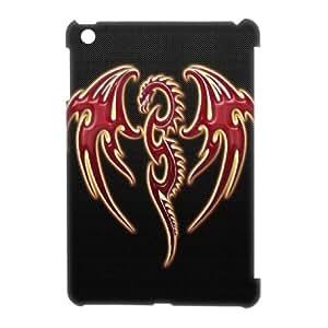 GRTT Best Quality Diy iPad Mini 3D Case Red Dargon 3D Bumper Plastic Customized Case RT738411