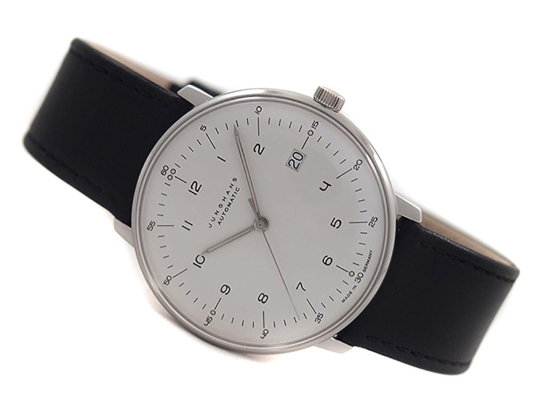 [ユンハンス] JUNGHANS 腕時計 027/4700.00 機械式自動巻 メンズ レザーベルト マックスビル [並行輸入品] B00L9YZA0Q