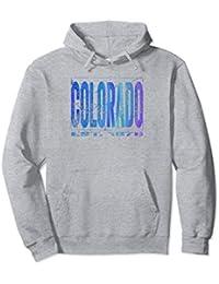 Colorado Hoodie Sweatshirt | Distressed Blue, Purple