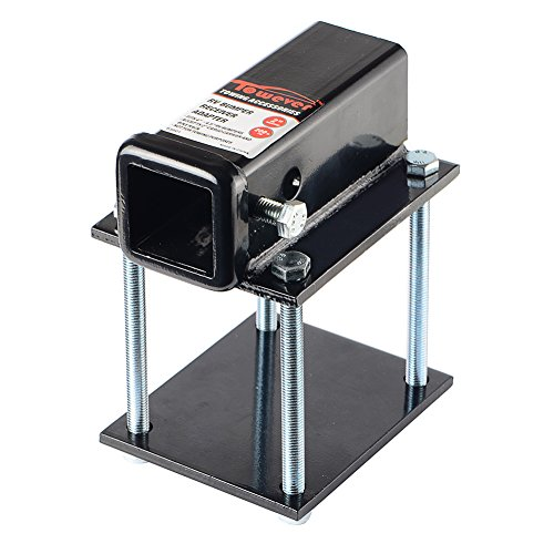"per Hitch Receiver 2"" Adapter For 4"" - 4.5"" Travel Trailer Rear Bumper ()"