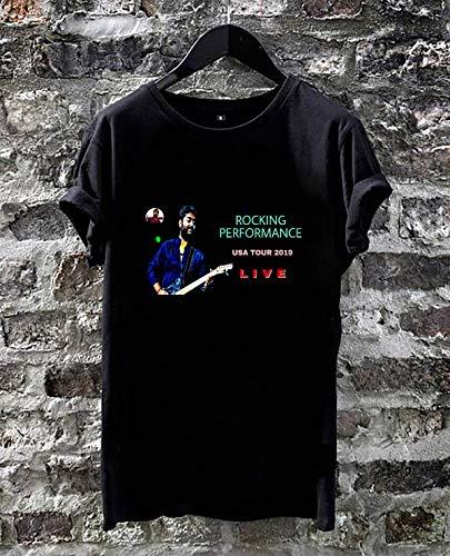 WhaleTee ARIJIT Singh Rocking Live Performance USA Tour 2019 Unisex T-Shirt Black
