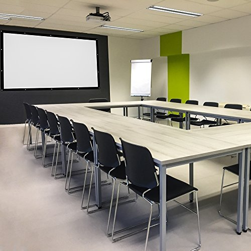 Definition Modular Classroom ~ Inch projector screen high definition portable