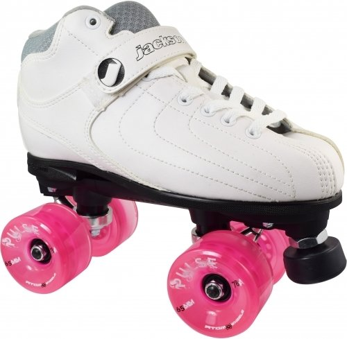 Black Jackson Vibe Atom Pulse Outdoor Roller Skates