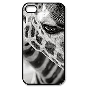 Customized Durable Case for Iphone 4,4S, Giraffe Phone Case - HL-R672942