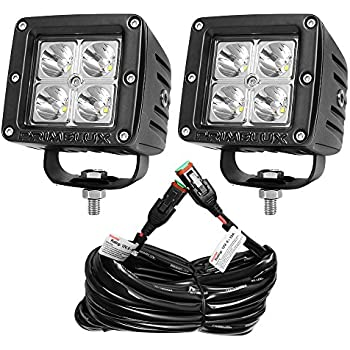 51CbRFINMFL._SL500_AC_SS350_ amazon com opt7 cree led pod with wiring harness (2 pcs 18w led pod wiring harness at gsmportal.co