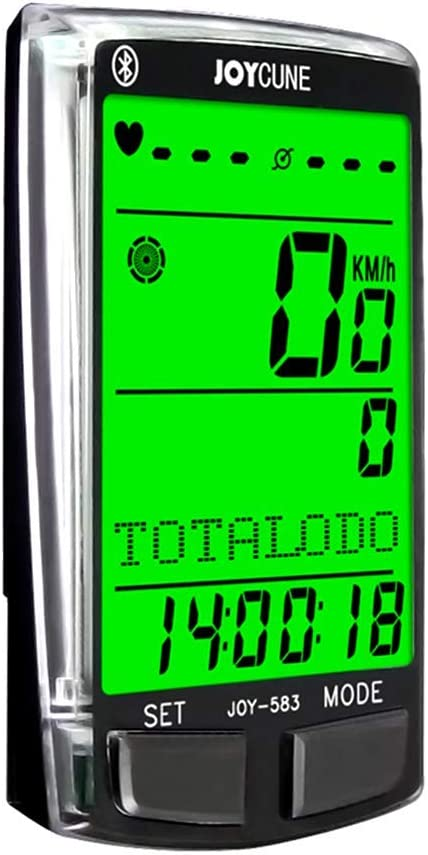 ARCELI SD-583 Tabla de códigos Bluetooth multifunción para Bicicleta HD Pantalla Grande Retroiluminación Cronómetro multilingüe