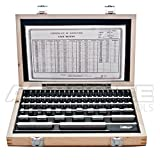 Accusize - 81 Pcs/Set Steel Gage Block set, Grade B, P900-S581