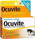 Bausch & Lomb Ocuvite Lutein Capsules 36 Capsules (Pack of 5)