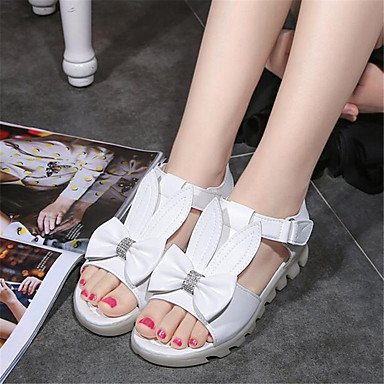 Comfort Women'S Flat Casual US9 Spring White Canvas EU40 CN41 RTRY UK7 Sneakers Comfort Pu FqYxzqdE