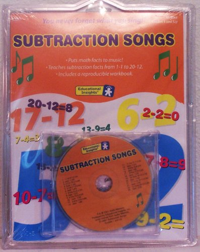 (Subtraction Songs Book and CD (Grades 1 and Up))
