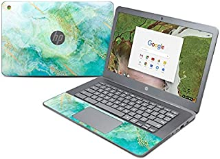 product image for Winter Marble Protector Skin Sticker Compatible with HP Chromebook 14 G5 - Ultra Thin Protective Vinyl Decal Wrap Cover