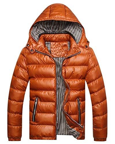 Con Alternativa Caldo Lunga Trapuntata Invernale Ultraleggero Cappuccio Cappuccio Giovane Kaki Impermeabile Cappotto Outwear Fino Maschile Moda Manica AqTIwA87rx