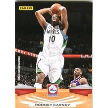 2009 /10 Panini NBA Basketball Card # 215 Rodney Carney Minnesota Timberwolves Mint Condition