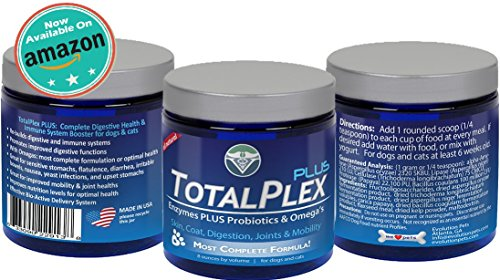 Cheapest Evolution Pets TotalPlex Plus MAXIMUM STRENGTH Probiotics for Dogs & Cats | PLUS ENZYMES & OMEGA's Check this out.