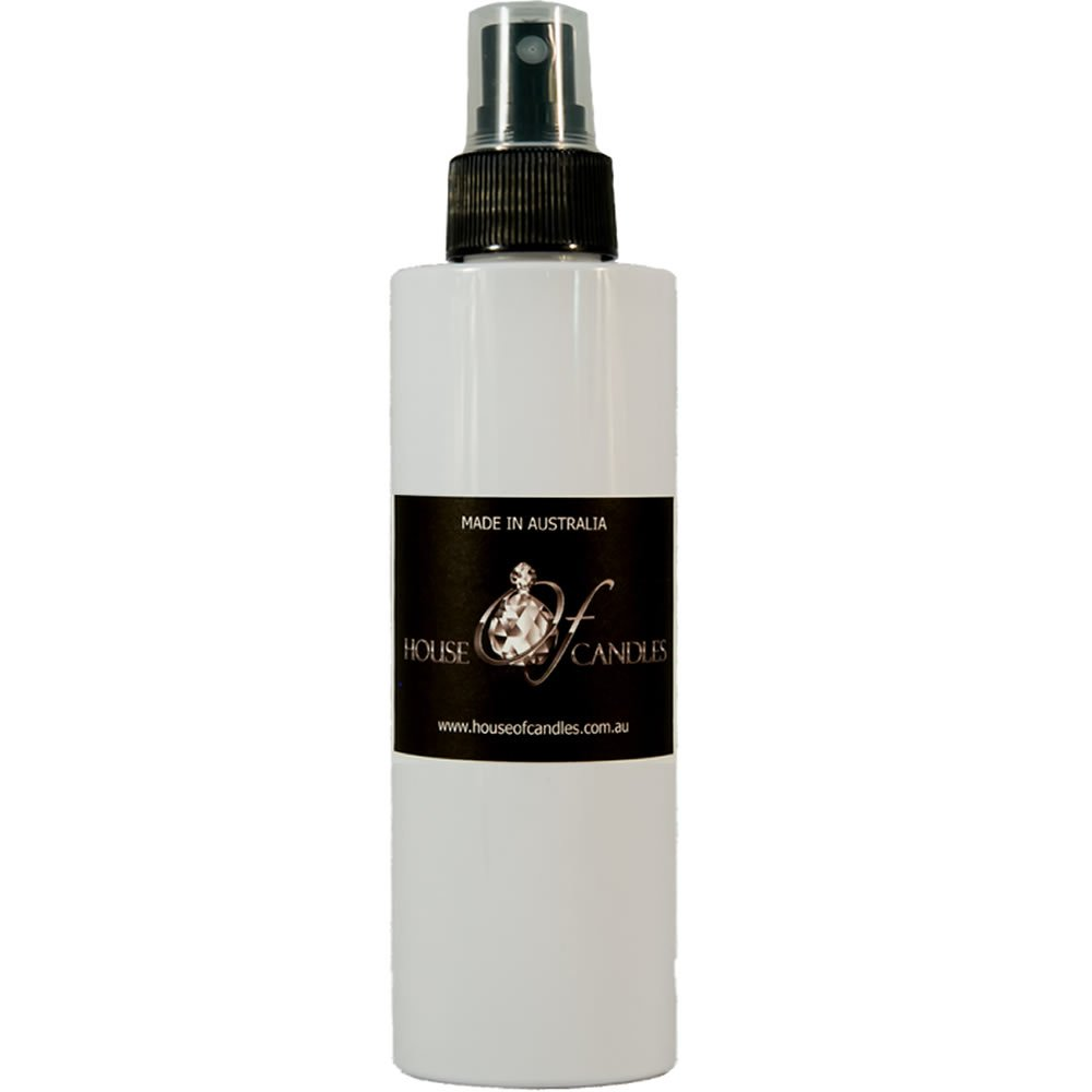 Australian Sandalwood Rose Perfume Body Spray Mist EXTRA STRONG 200ml CRUELTY FREE House Of Candles