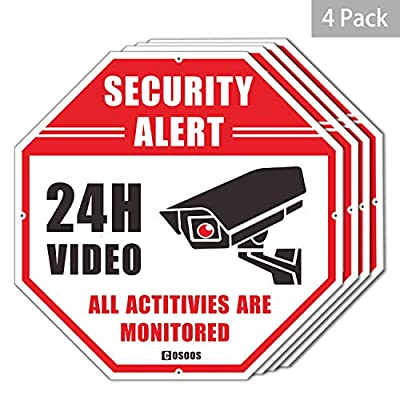 COSOOS 1080P 1920TVL Bullet Security Camera, 2.0 Megapixel Hybrid 4-in-1 HD-TVI/CVI/AHD/CVBS Waterproof Outdoor/Indoor Surveillance Camera from COSOOS