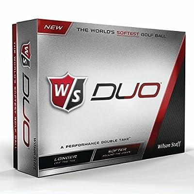 Wilson Staff Duo Golf Balls (12-Pack), White from Wilson Sporting Goods - Team